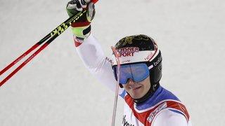 Loïc Meillard:«Je suis abonné à la quatrième place ici»