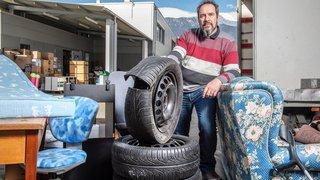 Emmaüs Sion a payé 36000francs pour éliminer déchets et marchandises en 2018