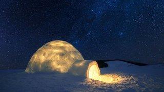 Crans-Montana: une nuit sur le glacier de la Plaine Morte