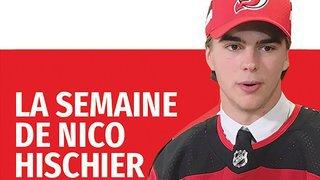 Retrouvez la semaine du hockeyeur valaisan de NHL Nico Hischier