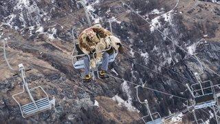 Les démons de l'hiver sur le domaine skiable d'Evolène