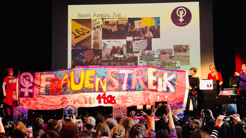 Plus de 500 femmes de toute la Suisse ont lancé un appel formel à la grève le 14 juin