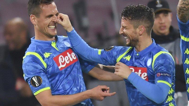 Football - Europa League: Naples, Chelsea et Valence s'imposent à domicile