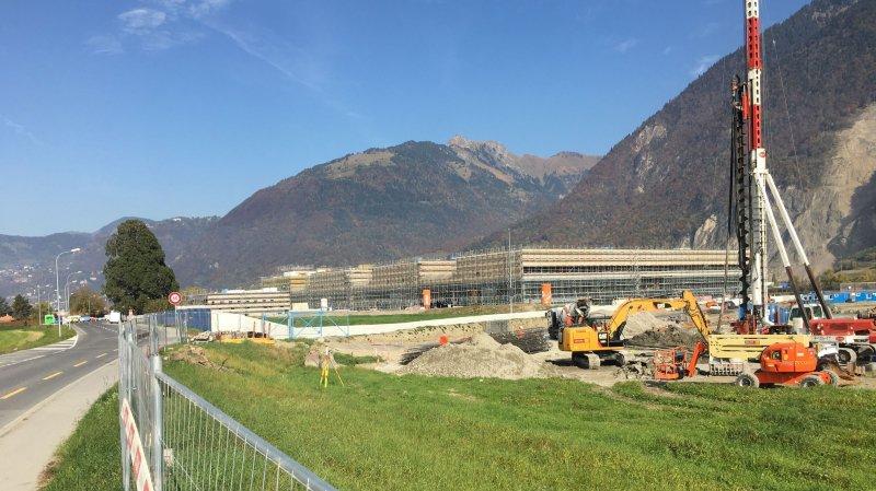 Les travaux du site hospitalier de Rennaz seront terminés le 30 septembre .
