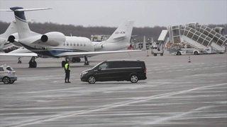 L'avion du gouvernement algérien a quitté l'aéroport de Genève