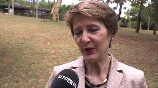 Climat: Simonetta Sommaruga comprend les jeunes grévistes