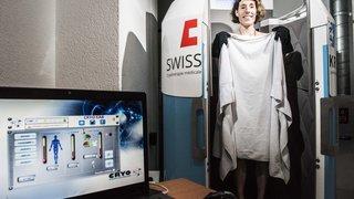 Sion: ouverture du premier centre de cryothérapie