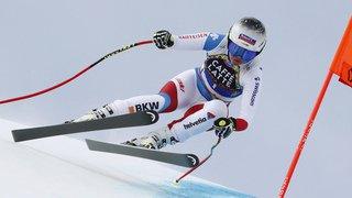 Ski alpin: Corinne Suter troisième de la descente des finales de Soldeu, le petit Globe à l'Autrichienne Schmidhofer