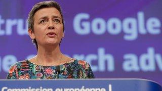 Abus de position dominante: l'UE inflige une nouvelle amende d'1,7 milliard à Google