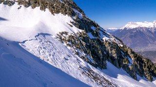 Une avalanche fait un mort au-dessus de Martigny