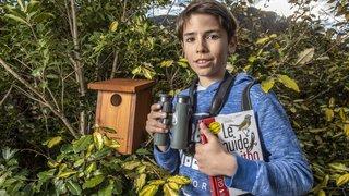Bagnes: à 12 ans, il se mobilise pour sauver les oiseaux