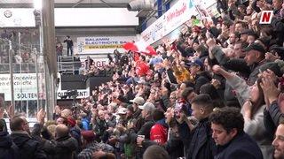 Hockey: le quatrième match de la finale entre le HC Sierre et le HCV Martigny du côté des supporters