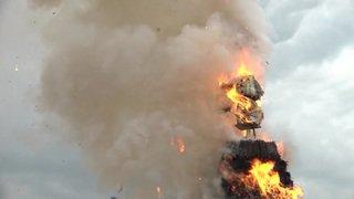 L'explosion du Böögg au Sechseläuten zurichois