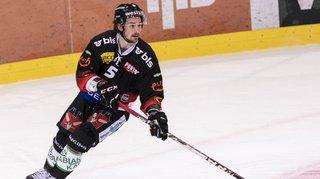 Hockey: le Bernois Almquist prend 4 matchs pour sa charge à la tête contre Reto Suri