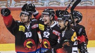 Hockey: Berne prend l'avantage face à Zoug en remportant l'acte III de la finale de National League