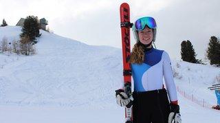 Un hiver au-delà des espérances de la skieuse du SC Champex-Ferret Delphine Darbellay