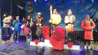 Ski alpin: Annie Farquet et Luis Stucky sur le podium