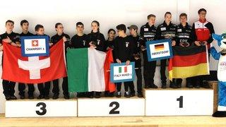 Curling: une place sur le podium pour les juniors de Champéry