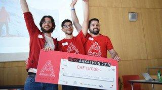 Sion: le 5e Arkathon récompense un projet d'application facilitant l'appel des médecins-sauveteurs
