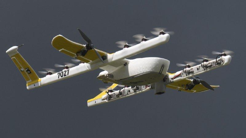 Etats-Unis: un drone parcourt 4,5 km pour livrer un rein