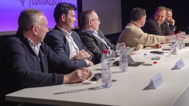 Les présidents d'Icogne, de Lens et de Crans-Montana doivent mieux travailler ensemble, selon le PLRVS.