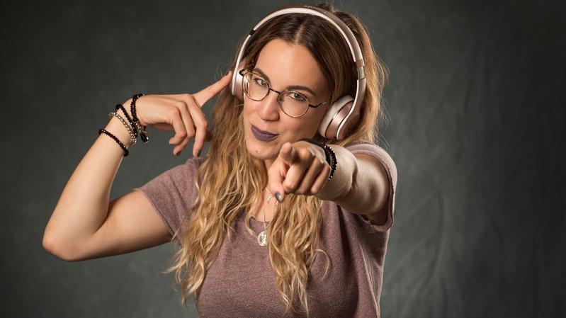 Agathe Seppey, journaliste au Nouvelliste, mélomane et musicienne.