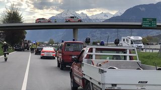 Accident sur la route d'Aproz à Sion: un mort et un blessé grave