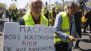 Macron «n'a pas écouté ce qu'on a dit», selon des «Gilets jaunes»