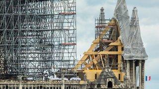 Notre-Dame: une tempête pourrait entraîner l'effondrement des murs
