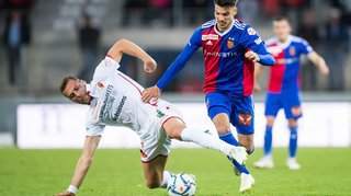 Sion manque son épreuve de maturité face à Bâle (0-3)