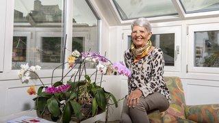 Claude Pellissier, guide touristique fraîchement retraitée, évoque ce Sion qu'elle aime tant