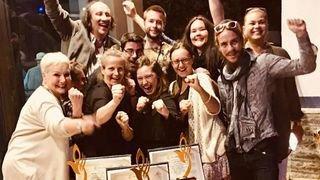 La Cie Interface gagne trois prix en Jordanie avec son spectacle «Vive la vie»