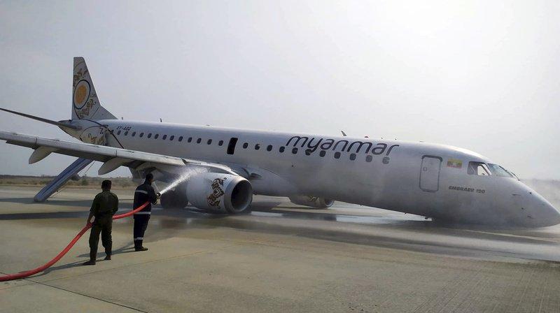 Birmanie: un pilote atterrit d'urgence un avion sans roues avant