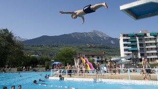 Sion: ouverture des piscines de plein air