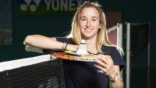 Michelle Fux, un aller-retour première classe entre tennis et badminton