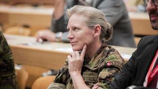 Germaine Seewer a tout pour devenir cheffe de l'armée, mais elle est…Valaisanne