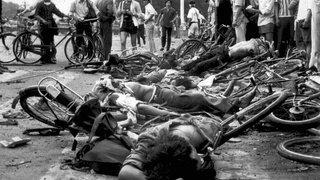 C'était il y a 30 ans: retour en images sur le massacre de Tiananmen