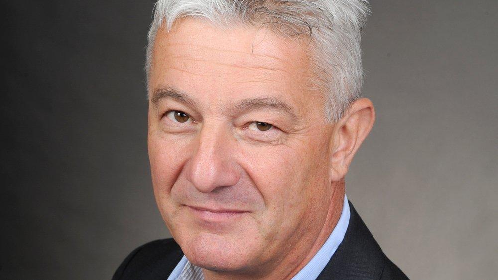 Eric Balet, président d'Avenir Industrie Valais/Wallis.