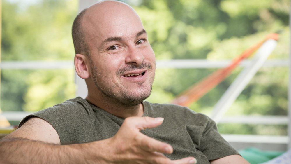Alexandre Jollien, écrivain et philosophe valaisan, fait son entrée dans le «Petit Robert 2020».