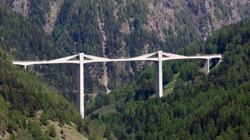 Des travaux vont se dérouler sur le pont de Ganter, ainsi que sur un autre tronçon de l'A9 Simplon.
