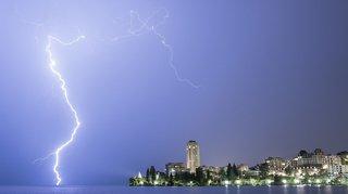 Météo: de violents orages vont frapper la Suisse romande ce samedi