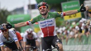 Cyclisme - Tour de Suisse: Elia Viviani remporte la 4e étape au sprint, Thomas abandonne