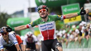 Cyclisme - Tour de Suisse: vainqueur la veille, Elia Viviani remporte la 5e étape à Einsiedeln