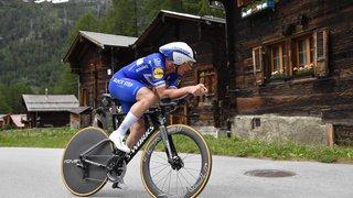 Cyclisme - Tour de Suisse: le Belge Yves Lampaert remporte le contre-la-montre à Ulrichen