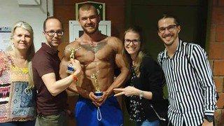 Bodybuilding: Axel Boson vice-champion du monde amateur