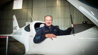 Un avion électrique, unique en son genre et propulsé par une start-up valaisanne, prend son envol à Sion