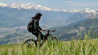Le district de Sierre crée 39 parcours de e-bike pour booster le tourisme estival