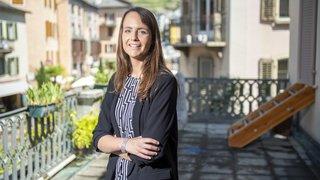 Gaëlle Métrailler quitte son poste de déléguée culturelle de la ville de Sion