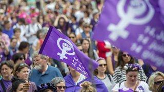 Grève des femmes à Sion, le récit de la journée en images