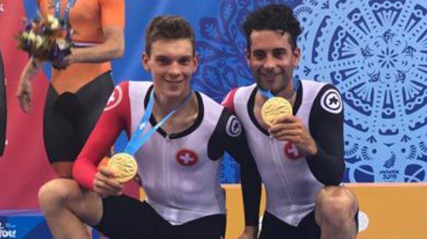 Tristan Marguet, à droite.